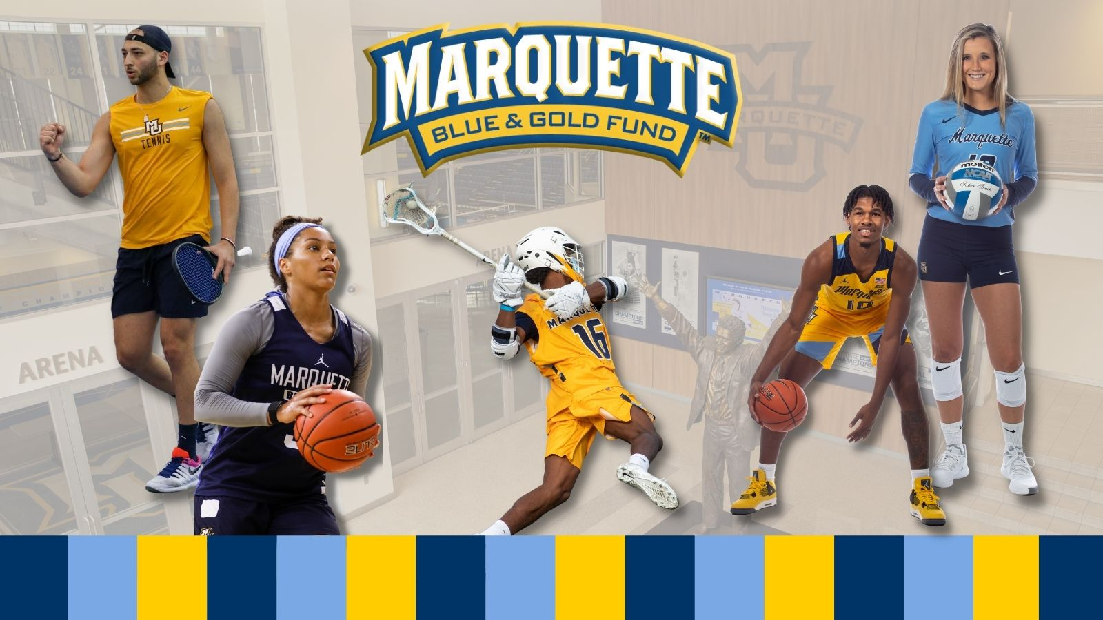 Support Marquette Athletics today.
