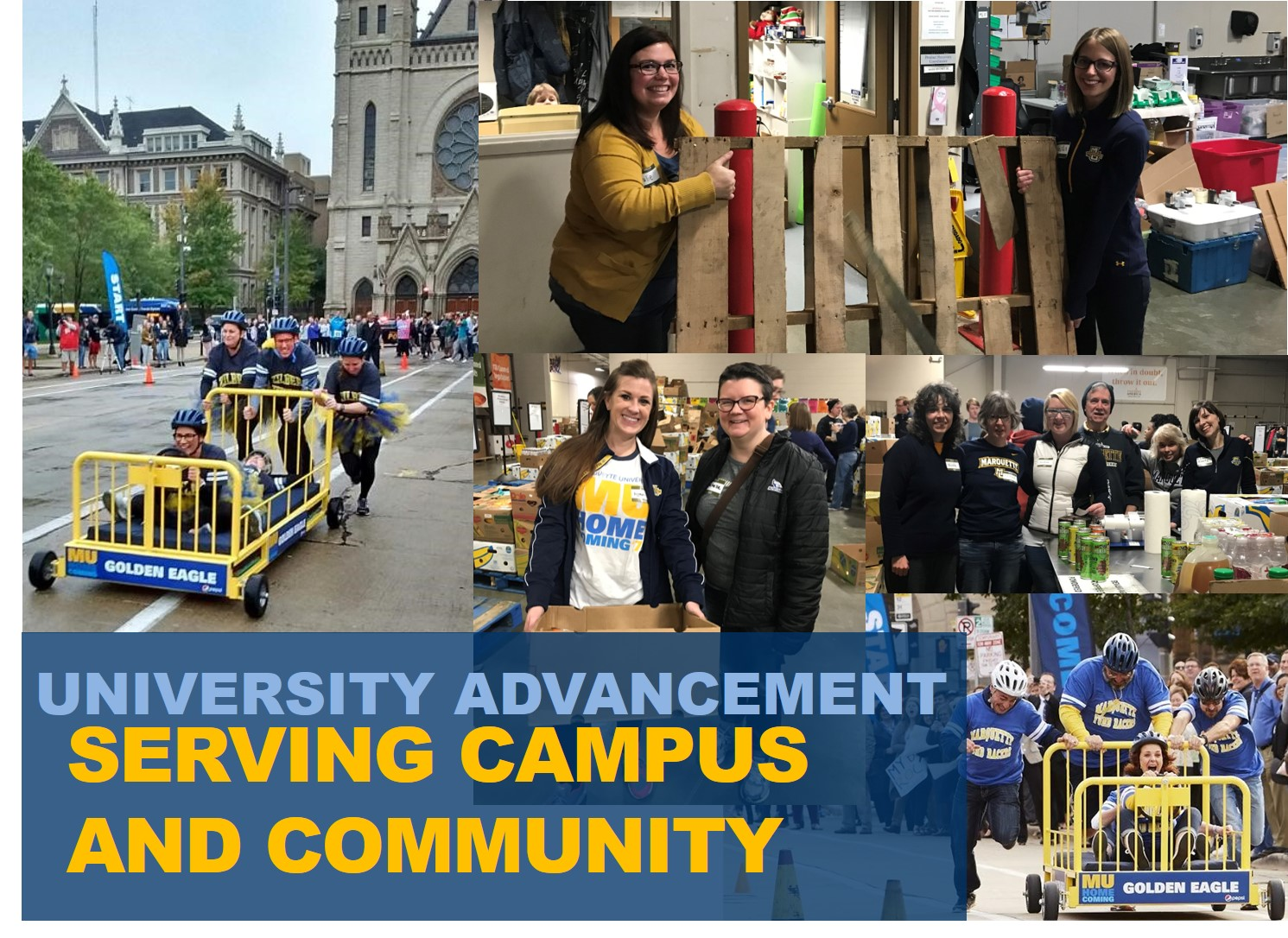 University Advancement Serving Campus and Community