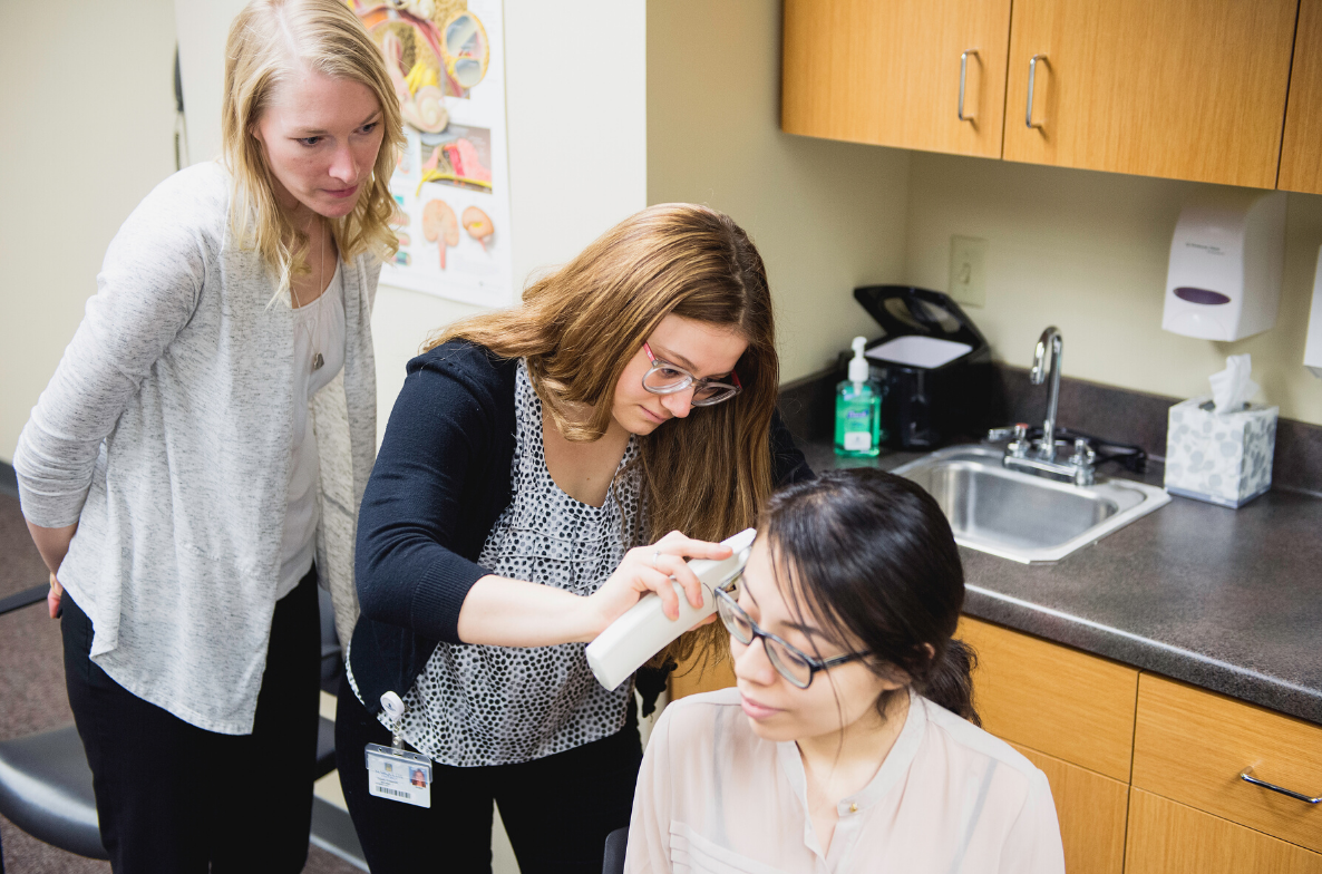 Student learning within the Speech Pathology and Audiology Department
