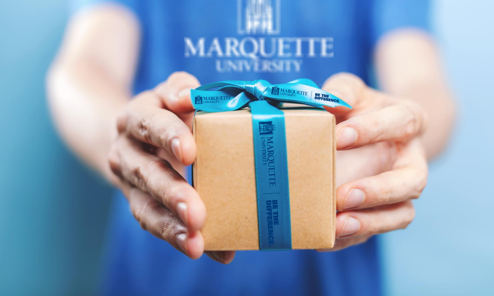 Marquette University thank you gift